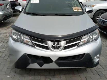 Foreign Used Toyota RAV4 2015 Model Silver