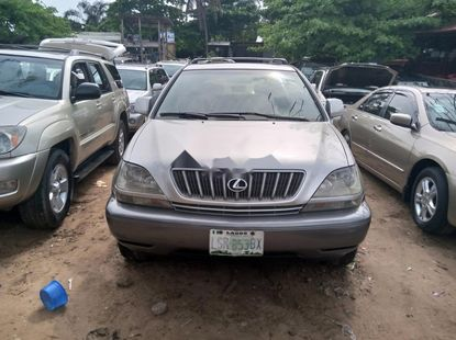 Nigeria Used Lexus RX 2002 Model Silver