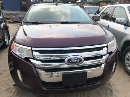 Foreign Used Ford Edge 2012 Model