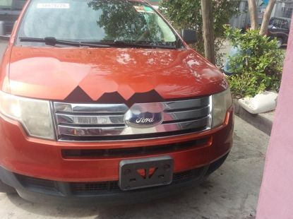 Foreign Used Ford Edge 2007 Model Orange