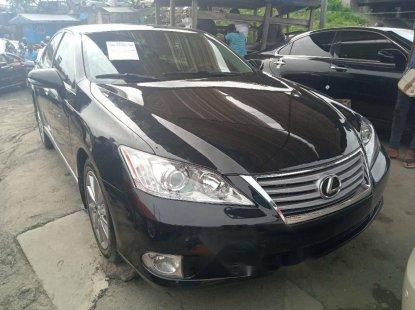 Foreign Used Lexus ES 2012 Model Black