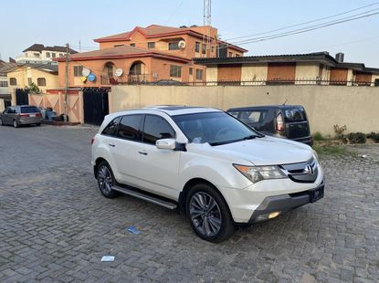 Foreign Used Acura MDX 2007 Model White
