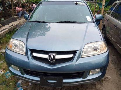 Foreign Used Acura MDX 2006 Model Blue