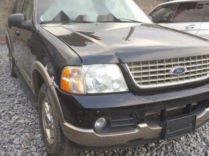 Foreign Used Ford Explorer 2002 Model Black
