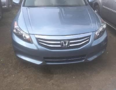 Foreign Used Honda Accord 2012 Model Blue