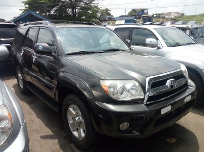 Accident free foreign used 2008 TOYOTA 4RUNNER