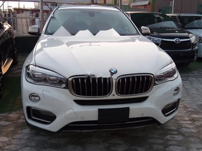 Foreign Used BMW X6 2018 Model White