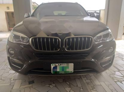 Nigeria Used BMW X6 2017 Model Black
