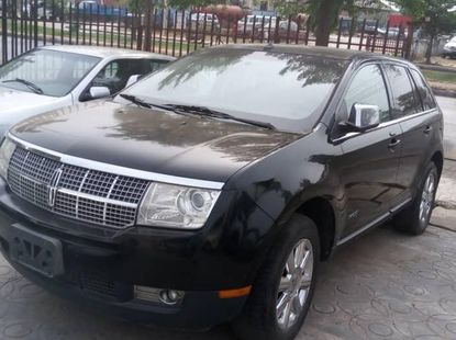 Foreign Used Lincoln MKX 2008 Model Gray
