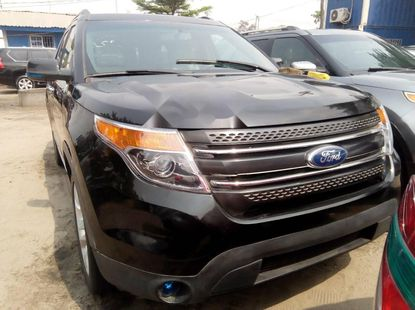 Foreign Used Ford Explorer 2011 Model Black