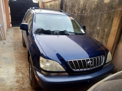 Foreign Used Lexus RX 2002 Model Blue