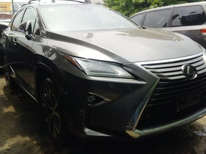 Foreign Used 2016 Grey Lexus RX for sale in Lagos.