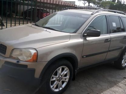 Foreign Used 2004 Gold Volvo XC90 for sale in Lagos.