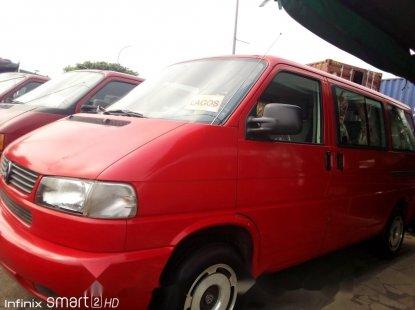 Red Volkswagen Transporter 2003 Model for sale