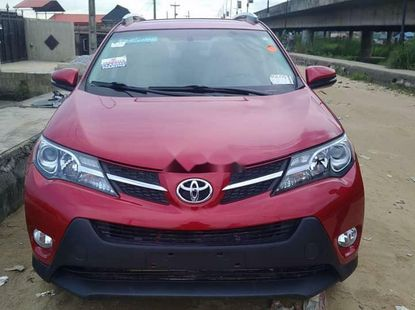 Foreign Used 2015 Red Toyota RAV4 for sale in Lagos.