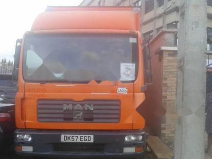 Foreign Used 2007 Orange Man 19.372 for sale in Lagos.