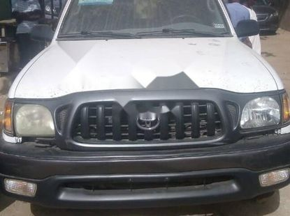 Foreign Used 2003 White Toyota Tacoma for sale in Kano.