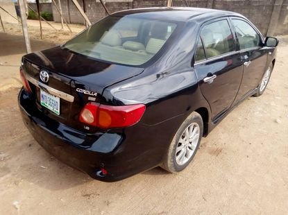 Well Maintained Toyota Corolla 2010 Model Naija Used