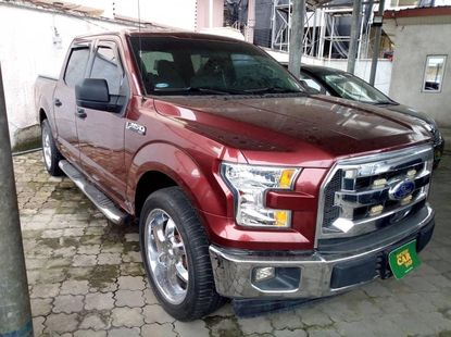 Foreign Used 2017 Maroon Ford F-150 for sale in Lagos.