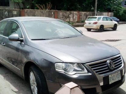 Clean Volkswagen Passat 2009 Model for sale
