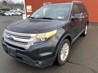 Foreign Used 2011 Black Ford Explorer for sale in Lagos.