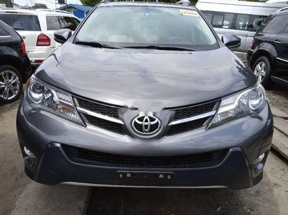 Foreign Used 2015 Grey Toyota RAV4 for sale in Lagos.