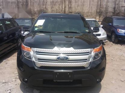 Foreign Used 2012 Black Ford Explorer for sale in Lagos