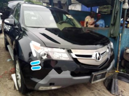 Foreign Used 2009 Black Acura MDX for sale in Lagos