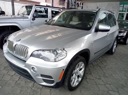 Foreign Used 2013 Silver BMW X5 for sale in Lagos
