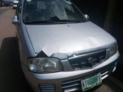 Nigeria Used Suzuki Alto 2001 Model Silver