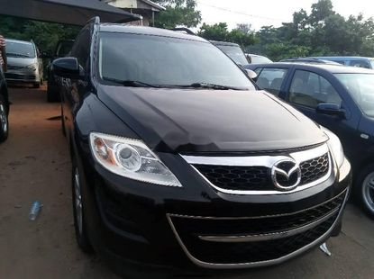 Foreign Used 2010 Black Mazda CX-9 for sale in Lagos