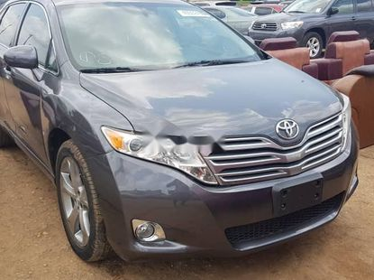 Foreign Used 2009 Grey Toyota Venza full option