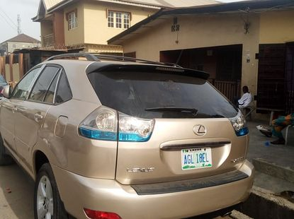 Well Maintained Nigerian used Lexus RX-350 2007 Model