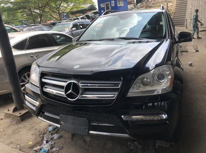 Foreign Used Mercedes Benz GLK350 2012 Model