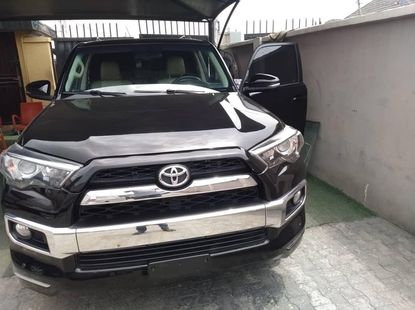 Foreign Used 2014 Black Toyota 4-Runner for sale in Lagos.