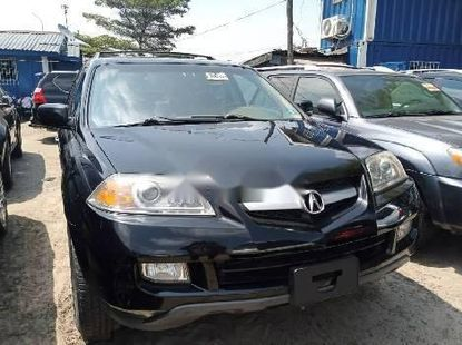 Foreign Used 2006 Black Acura MDX for sale in Lagos