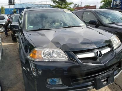 Foreign Used Acura MDX 2006 Model Gray