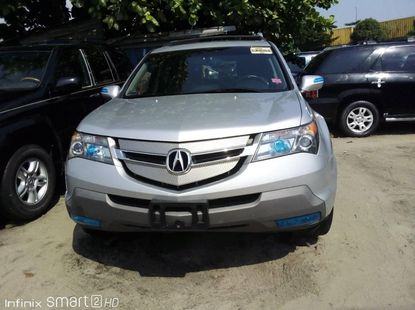 Foreign Used 2008 Silver Acura MDX for sale in Lagos