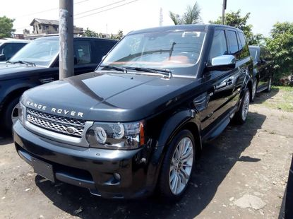 Foreign Used 2012 Black Land Rover Range Rover Sport for sale in Lagos.