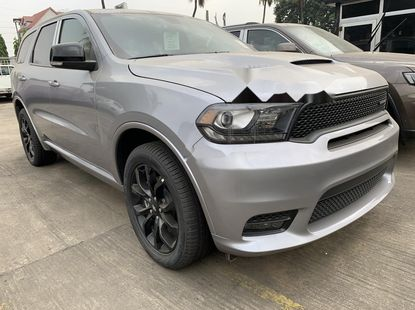 Brand New 2019 Silver Dodge Durango for sale in Lagos.