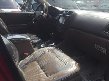 Foreign Used Acura MDX 2006 Model Red