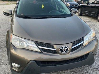 Foreign Used Toyota RAV4 2013 Model Gray