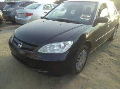 Foreign Used Honda Civic 2006 Model Black