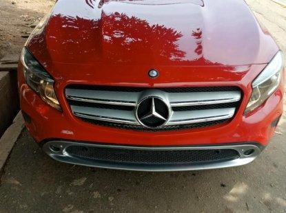 Tokunbo Mercedes-Benz GLE 2015 Model Red