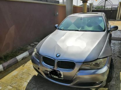 Nigeria Used BMW 328i 2009 Model Grey Silver