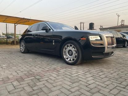 Nigeria Used Rolls-Royce Ghost 2016 Model Black