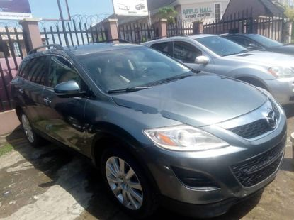 Foreign Used Mazda CX-9 2010 Model Gray