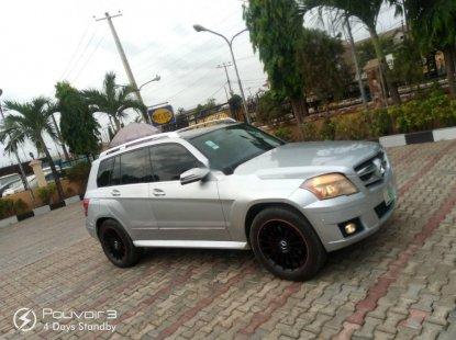 Nigeria Used Mercedes-Benz GLK 2012 Model Silver