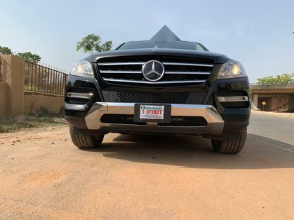 Foreign Used Mercedes-Benz ML350 2014 Model Black