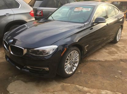 Foreign Used BMW 3 Series 2014 Model Black